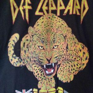 NEW Def Leppard Band Rock Pyromania 1983 tee shirt